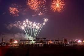 Brethren Days & Fireworks display near Dickson Township ,Manistee,Michigan